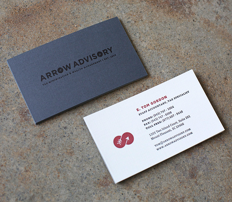 Letterpress Business Cards