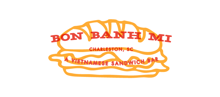 Logo Alternate for Bon Banh Mi by Fuzzco
