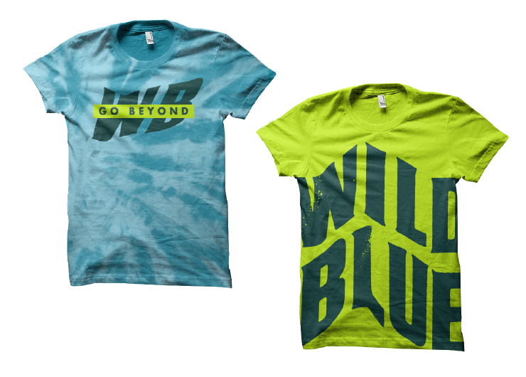 Unisex Shirts for Wild Blue by Fuzzco