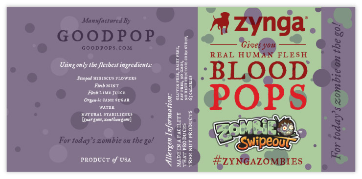 Blood Pop alternate version for Zynga by Fuzzco