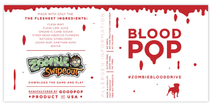 Final Blood Pop Labels for Zynga by Fuzzco